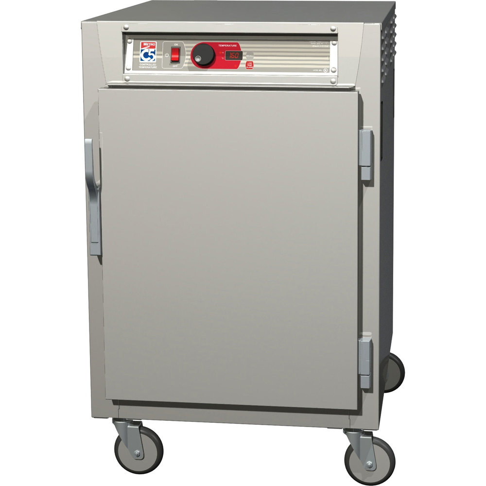 Metro C585-SFS-UPFS C5 8 Series Reach-In Pass-Through Heated Holding Cabinet - Solid Doors