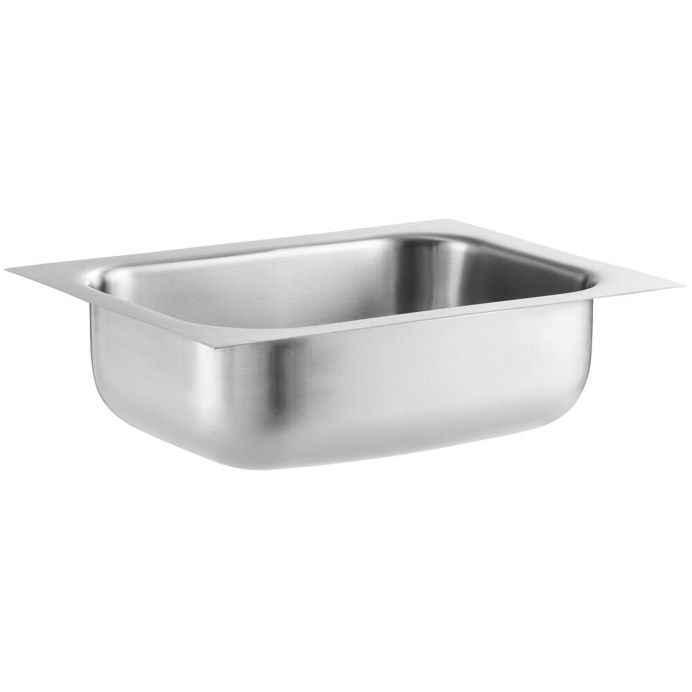Regency 10 inch x 14 inch x 5 inch 20 Gauge Stainless Steel One Compartment Undermount Sink