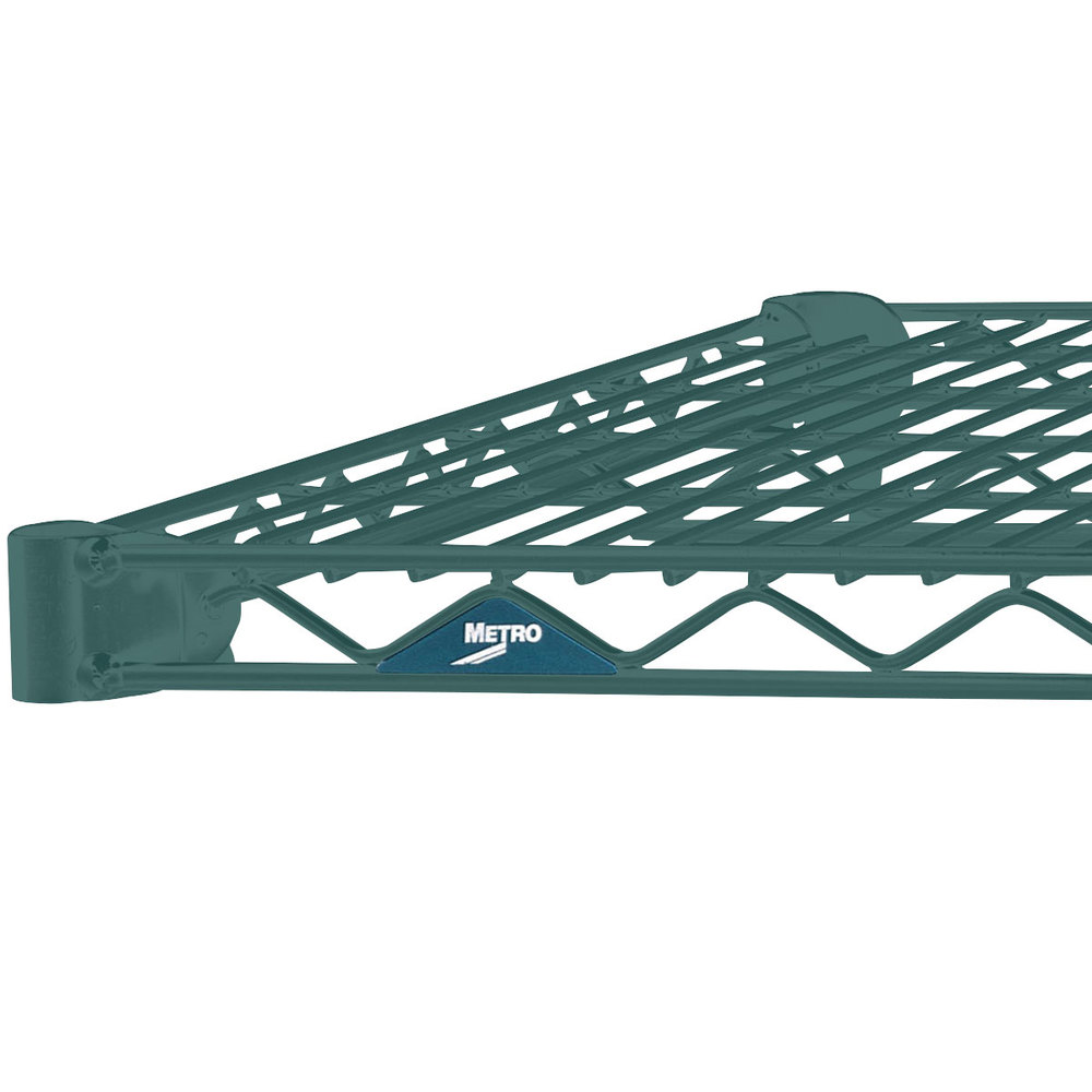 "Metro 2472NK3 Super Erecta Metroseal 3 Wire Shelf - 24"" x 72"""
