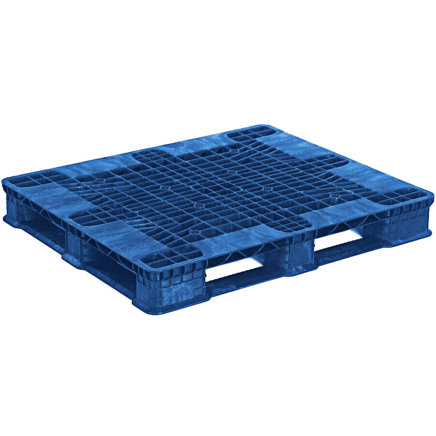 Regency Stack'R MD 48 inch x 40 inch Blue Stackable Pallet