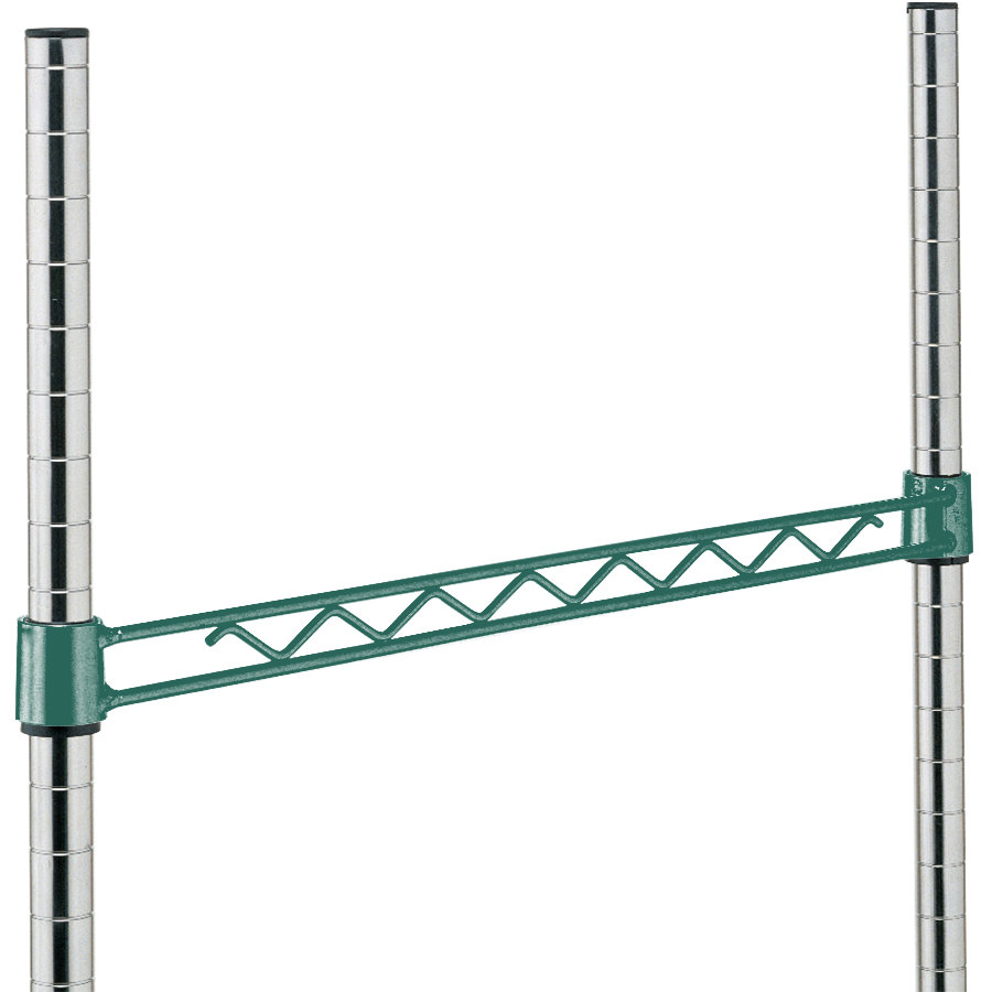 Metro H124-DHG Hunter Green Hanger Rail 24""