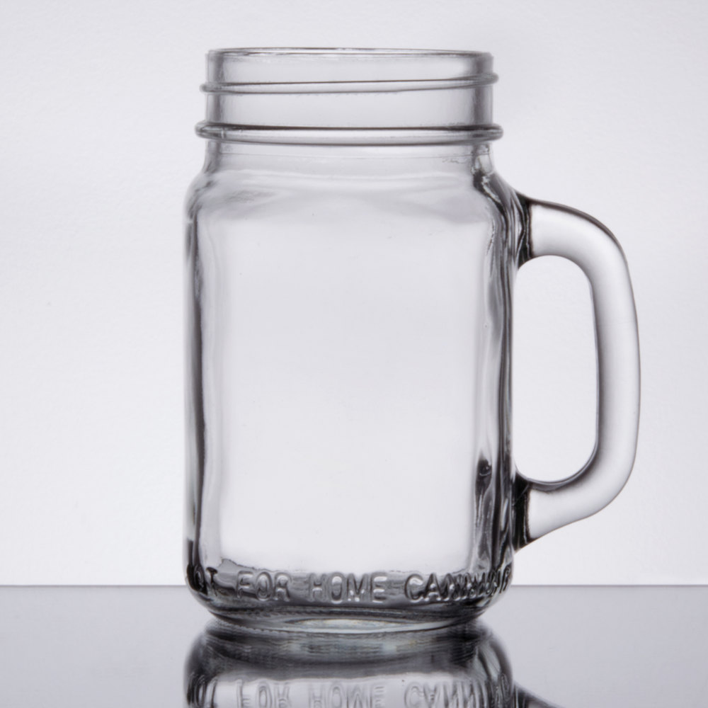 Mason Jars With Handles Core 16 Oz Mason Jar Glasses