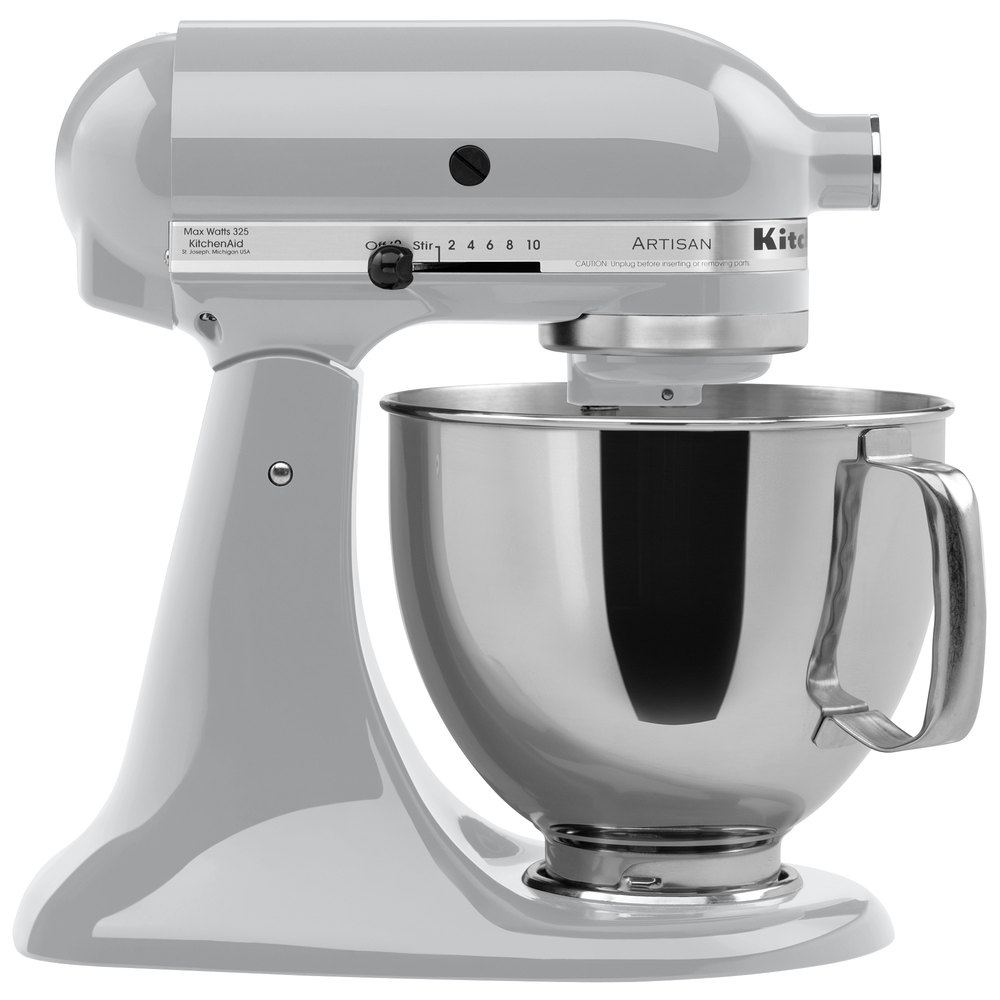... Main Picture Kitchenaid Ksm150psmc Artisan Series 5 Quart Mixer  Metallic Chrome Kitchenaid Ksm150psmc Artisan Series Stand ...