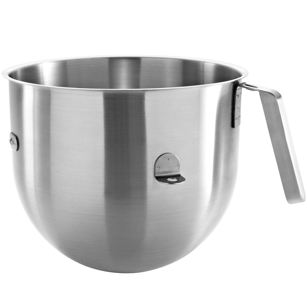 Kitchen aid heavy duty - Kitchenaid Ksmc7qbowl 7 Qt Stainless Steel Mixing Bowl With Handle For Stand Mixers