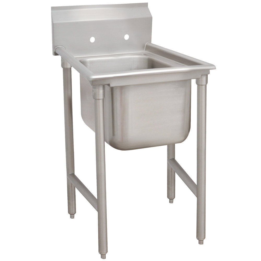 Advance Tabco 9-81-20 Super Saver One Compartment Pot Sink - 29""