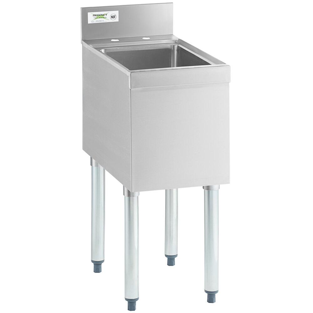 Regency 1 Bowl Underbar Hand Sink - 21 inch x 12 inch