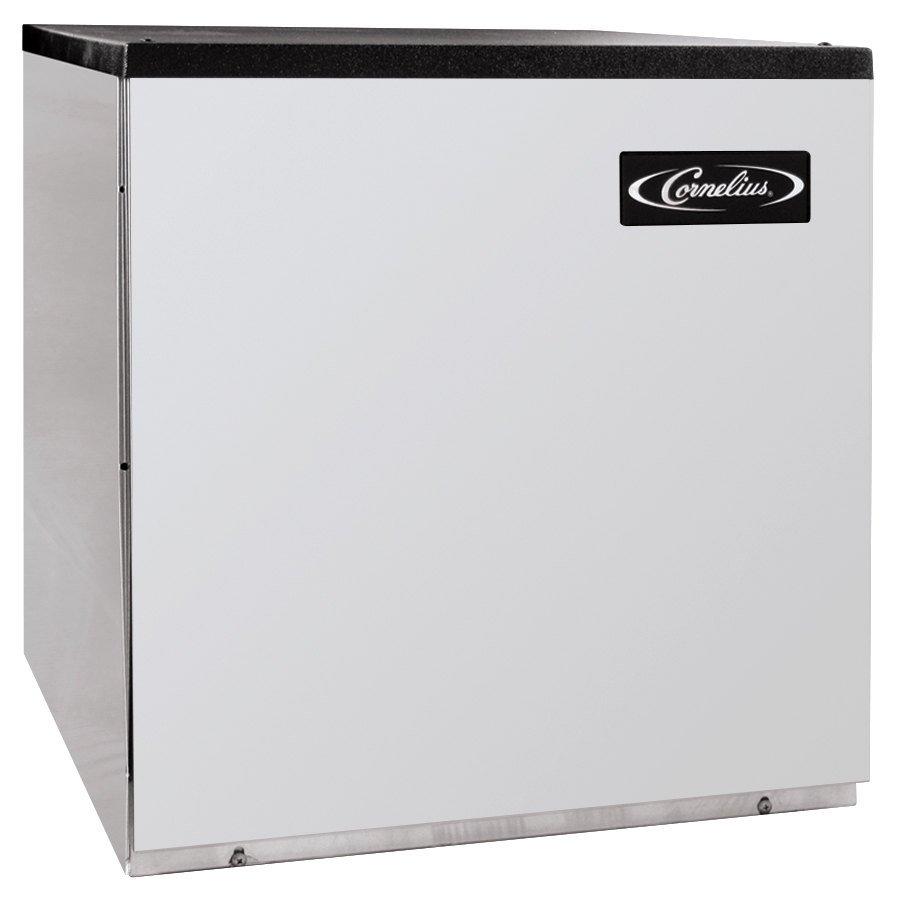 "Cornelius CCM0522AH1 Nordic Series 22"" Air Cooled Half Size Cube Ice Machine - 507 lb."