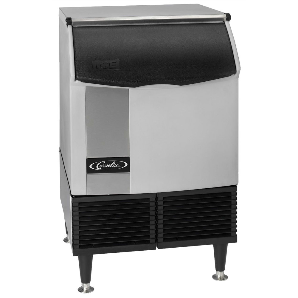 "Cornelius CCU0220AF1 Nordic Series 24"" Air Cooled Undercounter Full Size Cube Ice Machine - 251 lb."