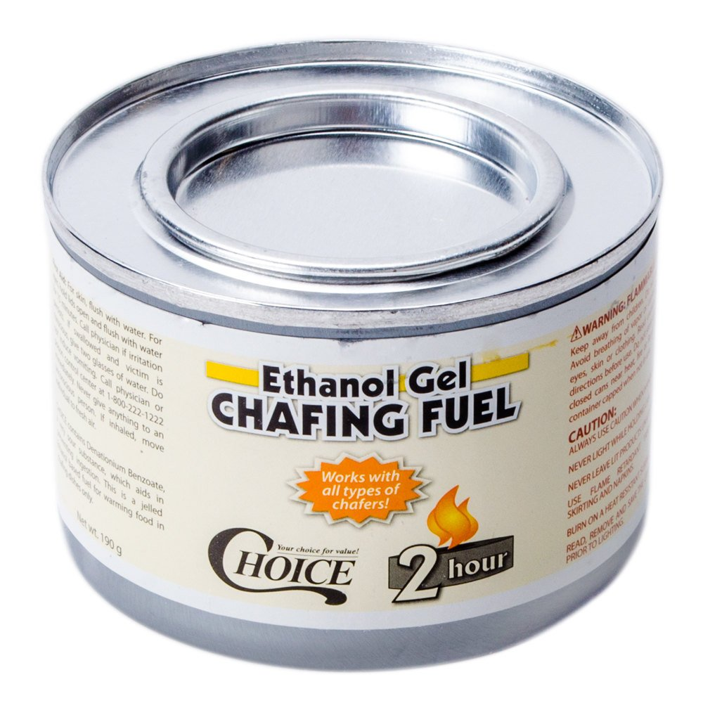 ethanol gel chafing fuel how to use