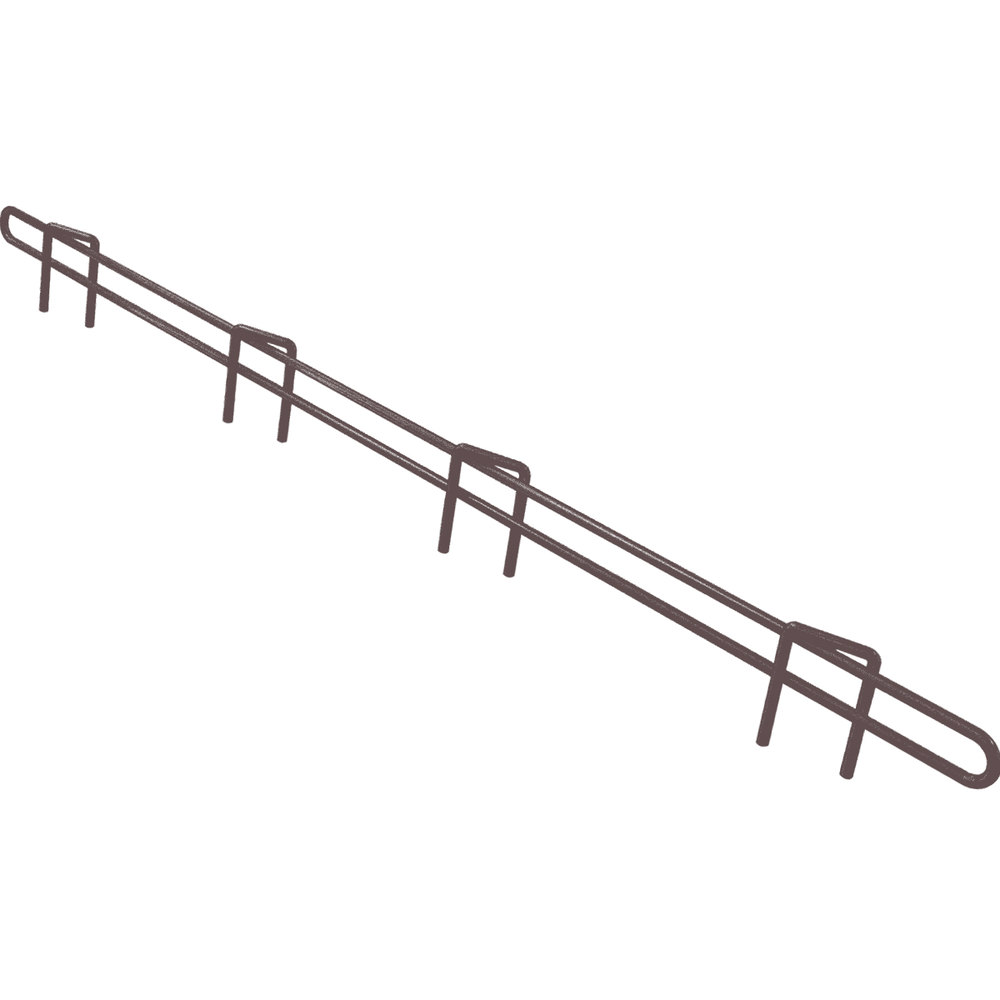 "Metro L30N-1-DCH Super Erecta Copper Hammertone Ledge 30"" x 1"""