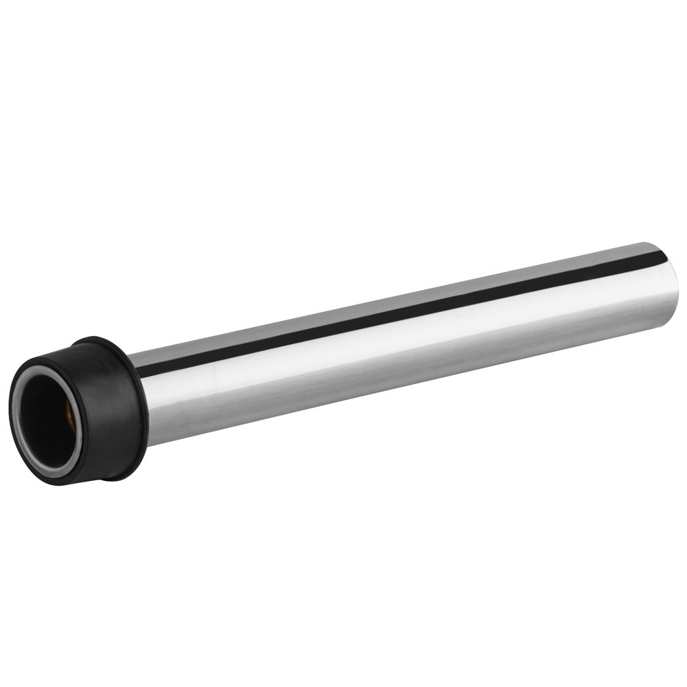 Regency 10 inch Stainless Steel Overflow Pipe for 1 3/4 inch Drains