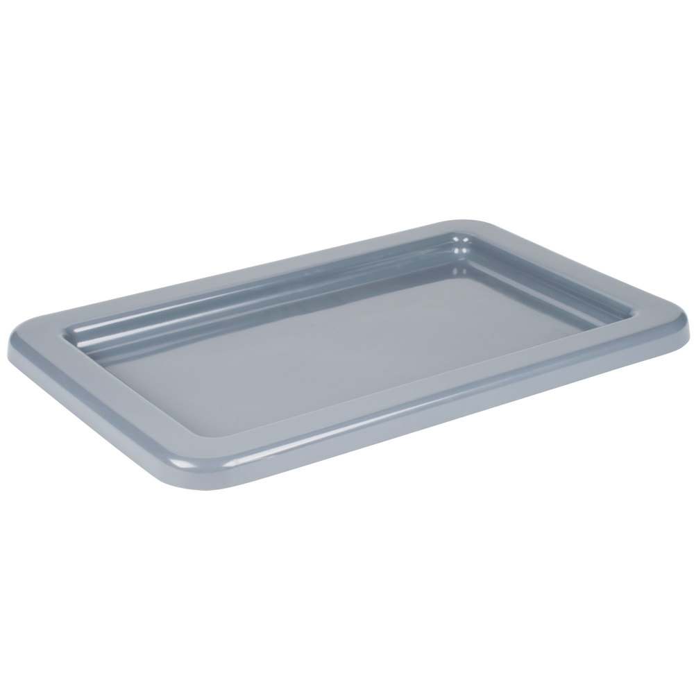 "Winholt WHPL-8LID-GY 16"" x 25"" Gray Lid for WHPL-8GY Lug"