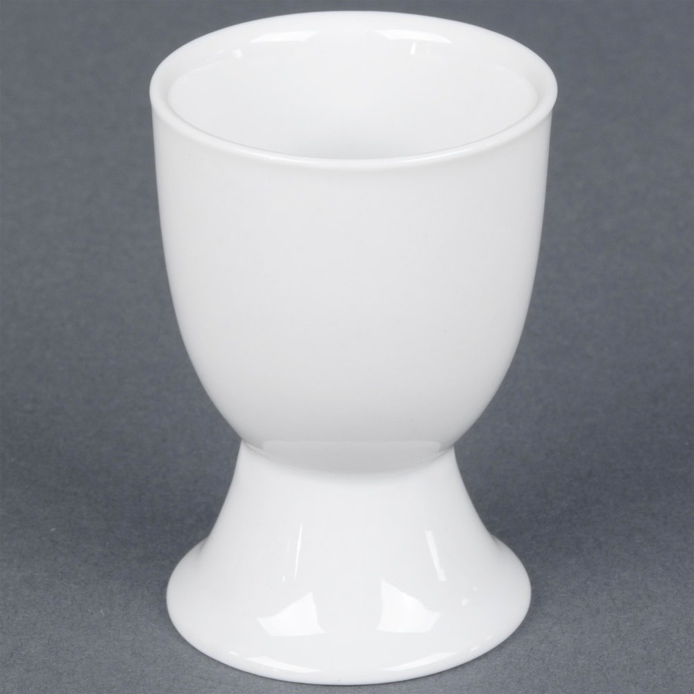 Cac Egc 3 White China Egg Cup 1 5 Oz 48 Case
