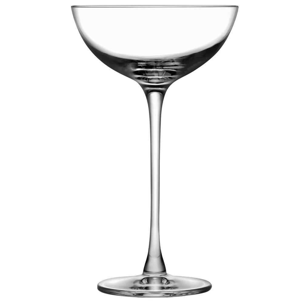 Nude 67104-012 Hepburn 6.5 Ounce Coupe Glass - 12 / CS