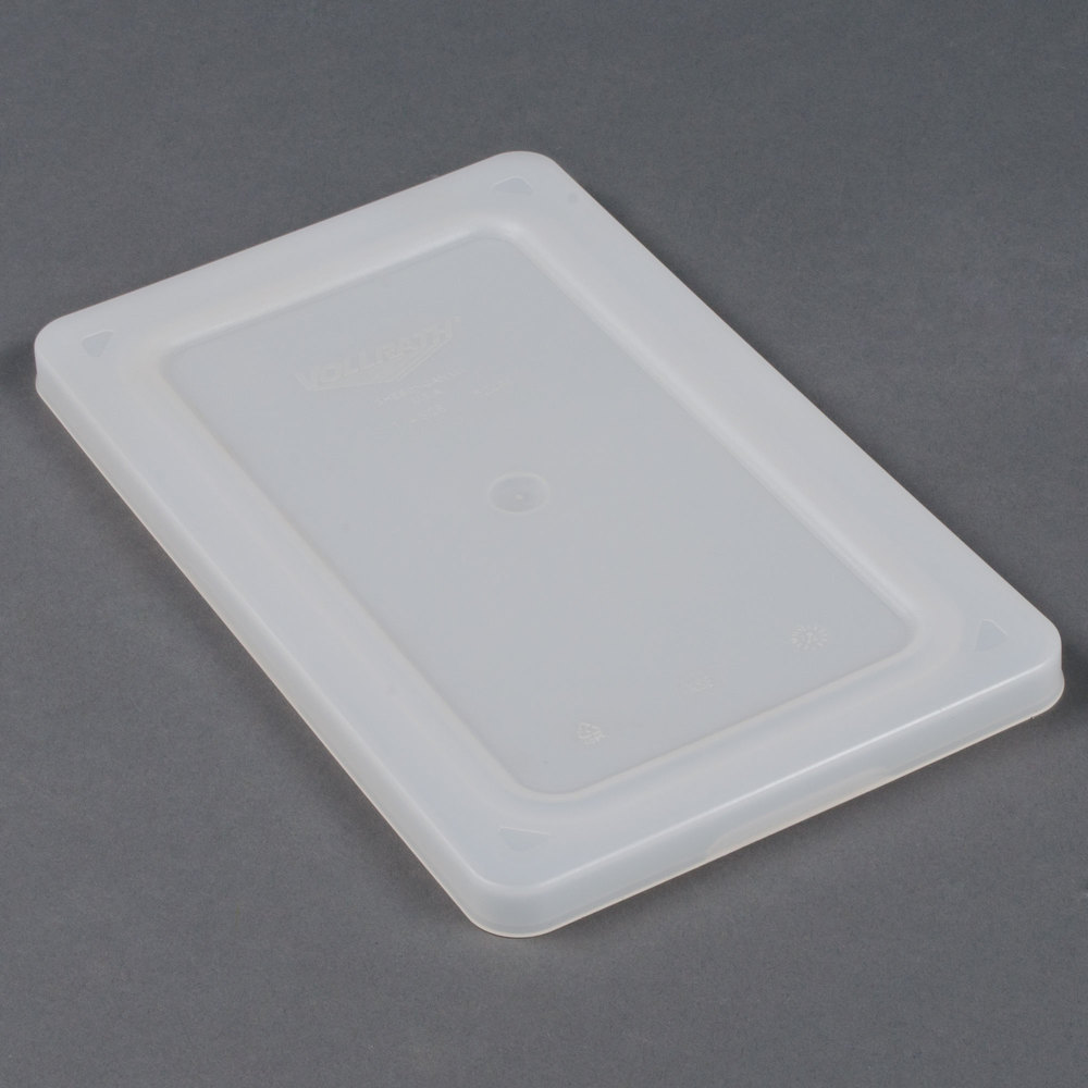 Vollrath 52432 Super Pan V 1/3 Size Flexible Steam Table / Hotel Pan Lid