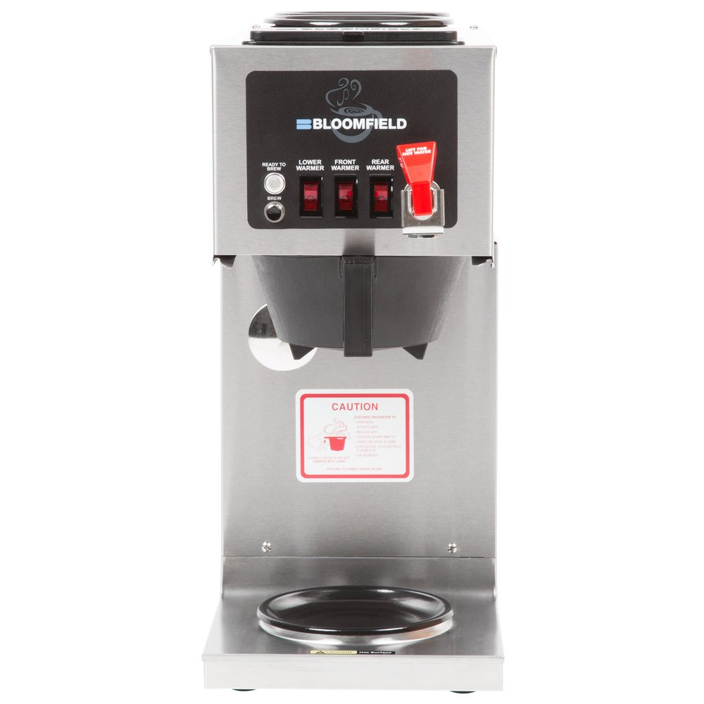 Bloomfield Integrity Coffee Maker Parts : Bloomfield 9012D3F Integrity 3 Warmer In-Line Automatic Coffee Brewer - 120V