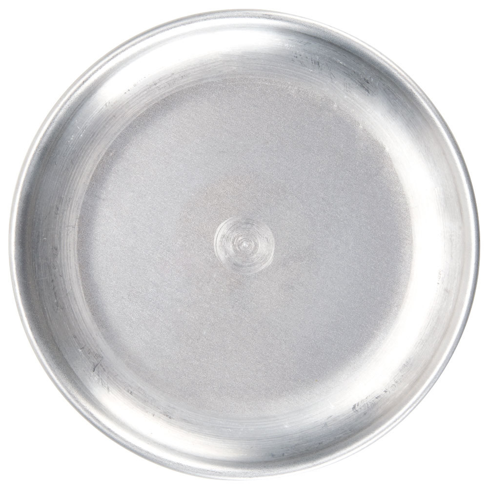 "American Metalcraft CTP17 17"" Standard Weight Aluminum Coupe Pizza Pan"