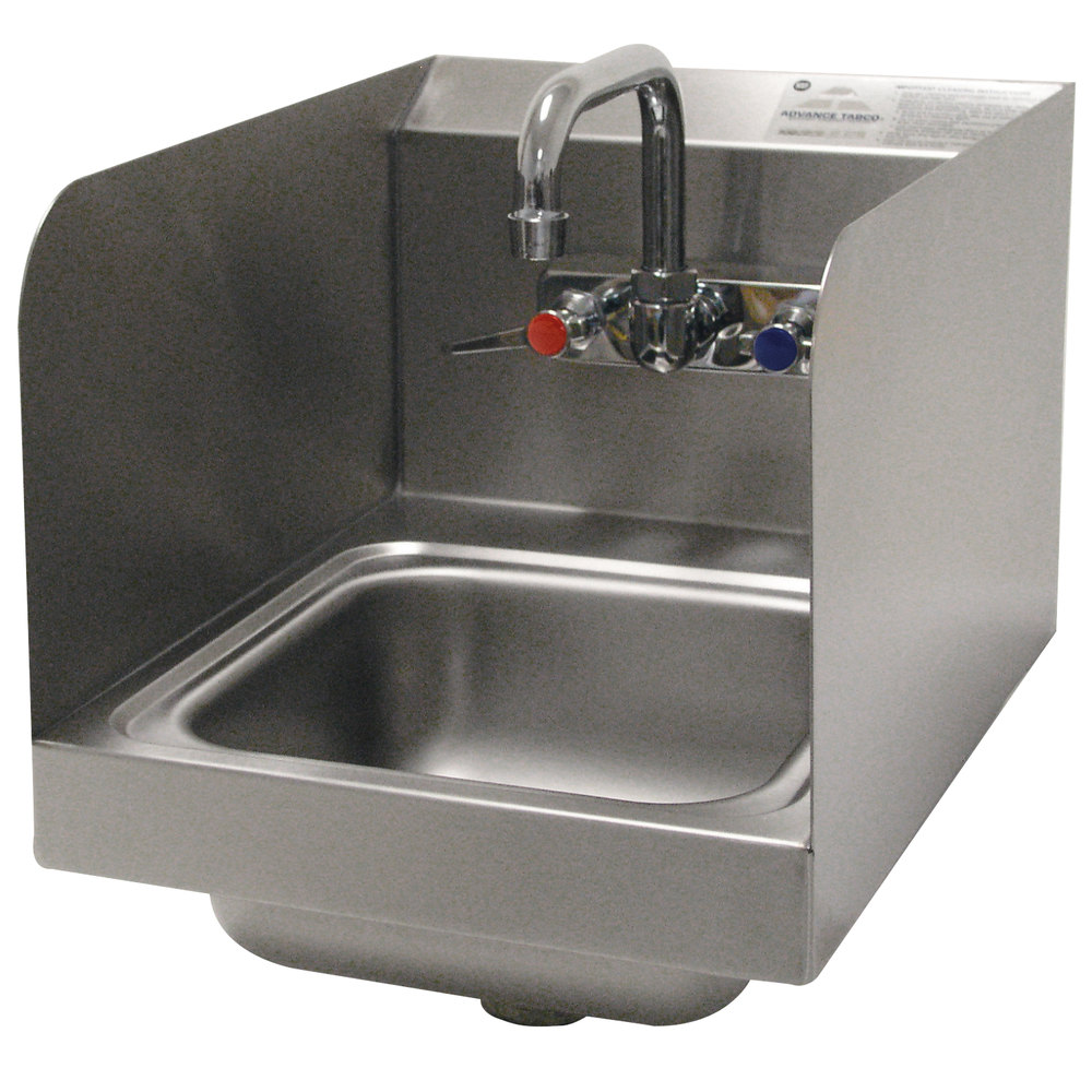 Advance Tabco 7 Ps 56 Space Saving Hand Sink With Side