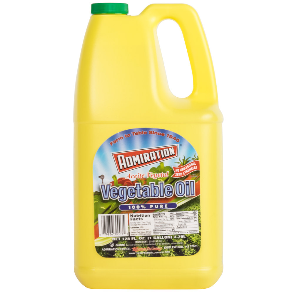 Admiration Pure Vegetable Salad Oil 1 Gallon
