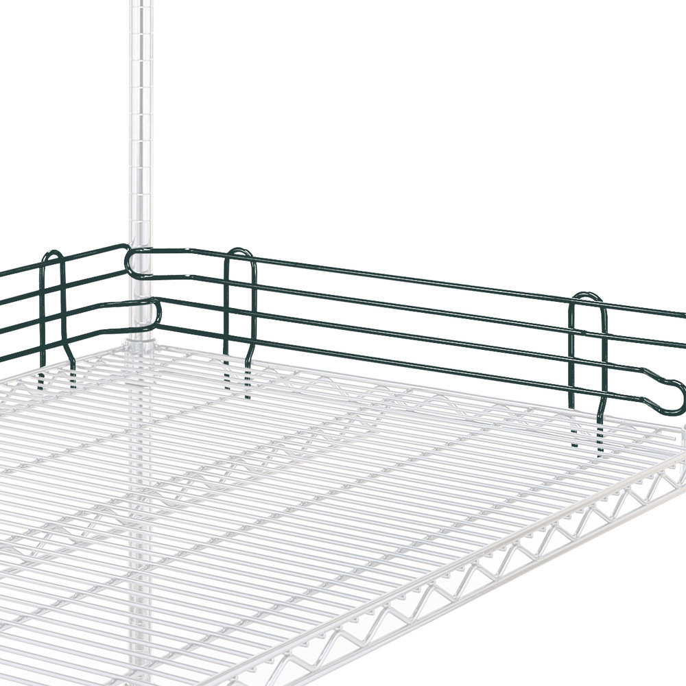 "Metro L14N-4-DSG Super Erecta Smoked Glass Stackable Ledge 14"" x 4"""