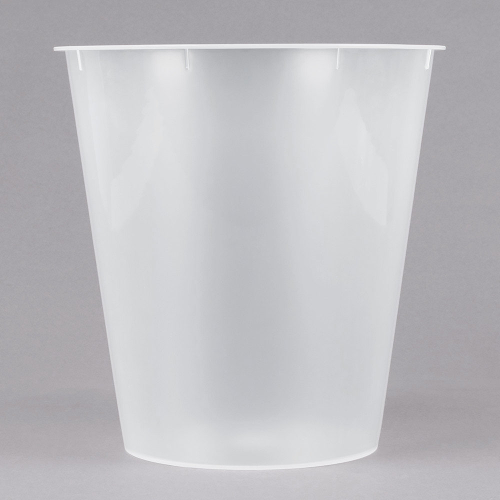 Bathroom Collections BS-WPL1 Plastic Hotel Room Wastebasket Liner for 9 Qt. Wastebaskets