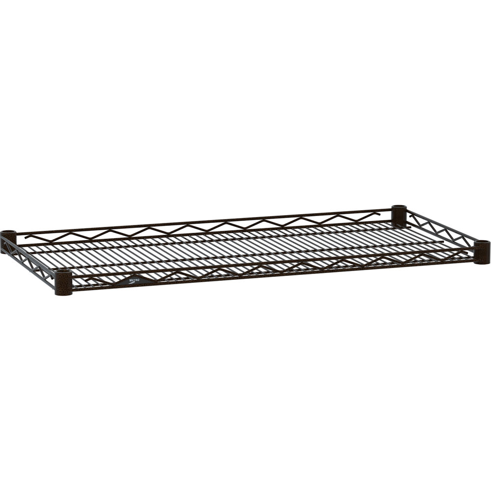 "Metro HDM2436-DCH Super Erecta Copper Hammertone Drop Mat Wire Shelf - 24"" x 36"""