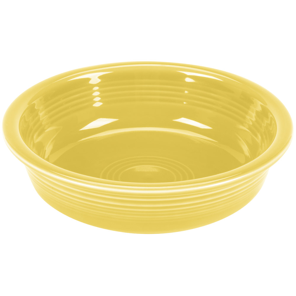 Homer Laughlin 461320 Fiesta Sunflower 19 Oz Medium Bowl