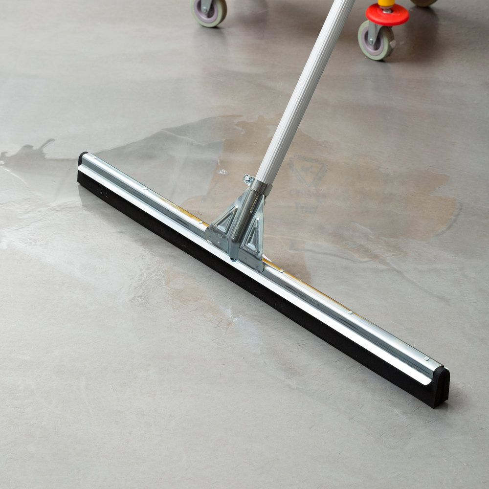 Unger Hm750 Waterwand 30 Quot Heavy Duty Straight Floor Squeegee