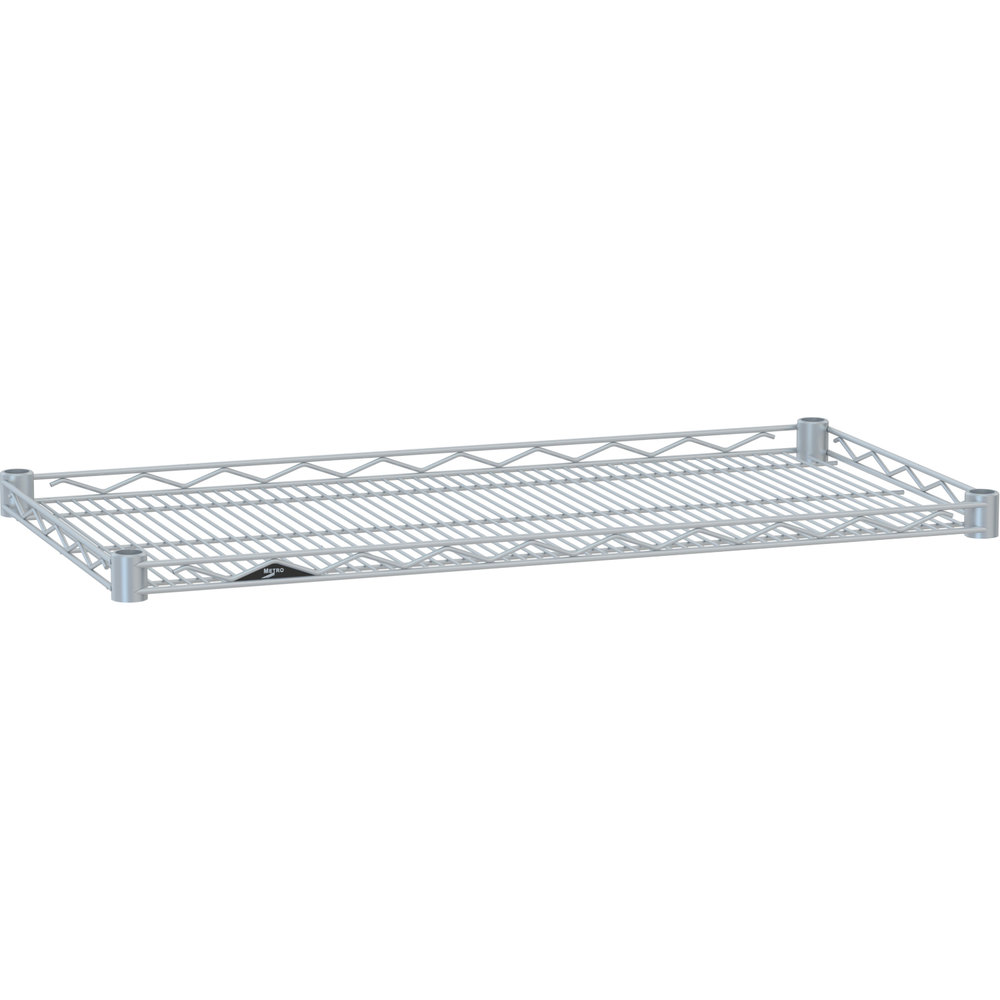 "Metro HDM1448BR Super Erecta Brite Drop Mat Wire Shelf - 14"" x 48"""