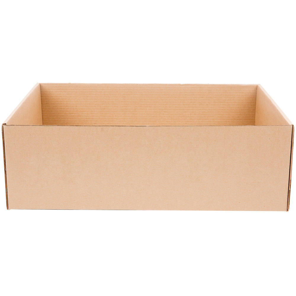 22 Quot X 16 1 2 Quot X 7 Quot Corrugated Catering Tray 25 Case