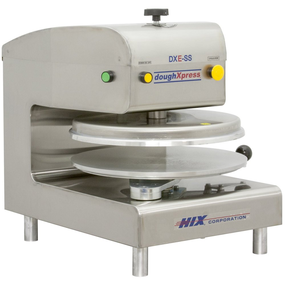 "DoughXpress DXE-SS Automatic Pizza Dough Press 18"" - Electromechanical"