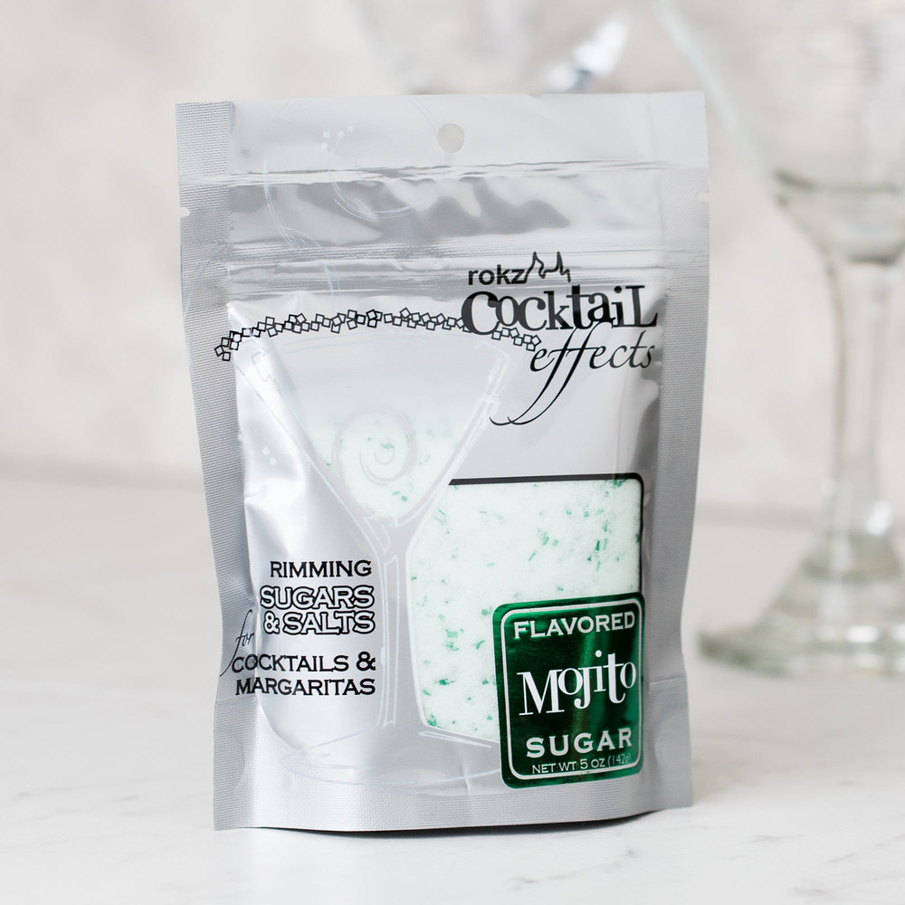 Rokz Mojito Cocktail Rim Sugar - 5 oz.