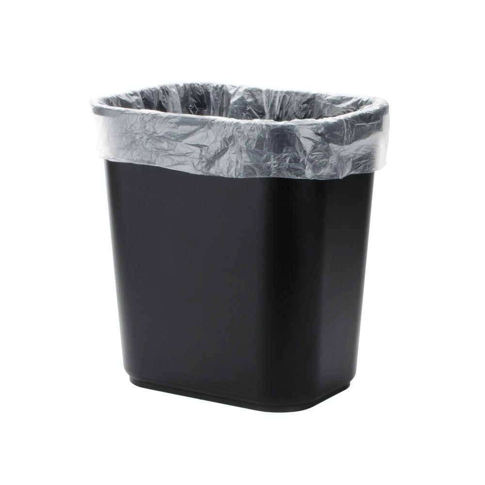 Trash Can Liner Bags : Gallon micron quot olympian high density can
