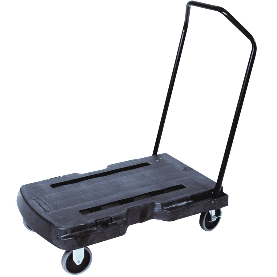 Rubbermaid 4401 Caterer's Triple Trolley for CaterMax Pan Carriers (FG440186BLA)