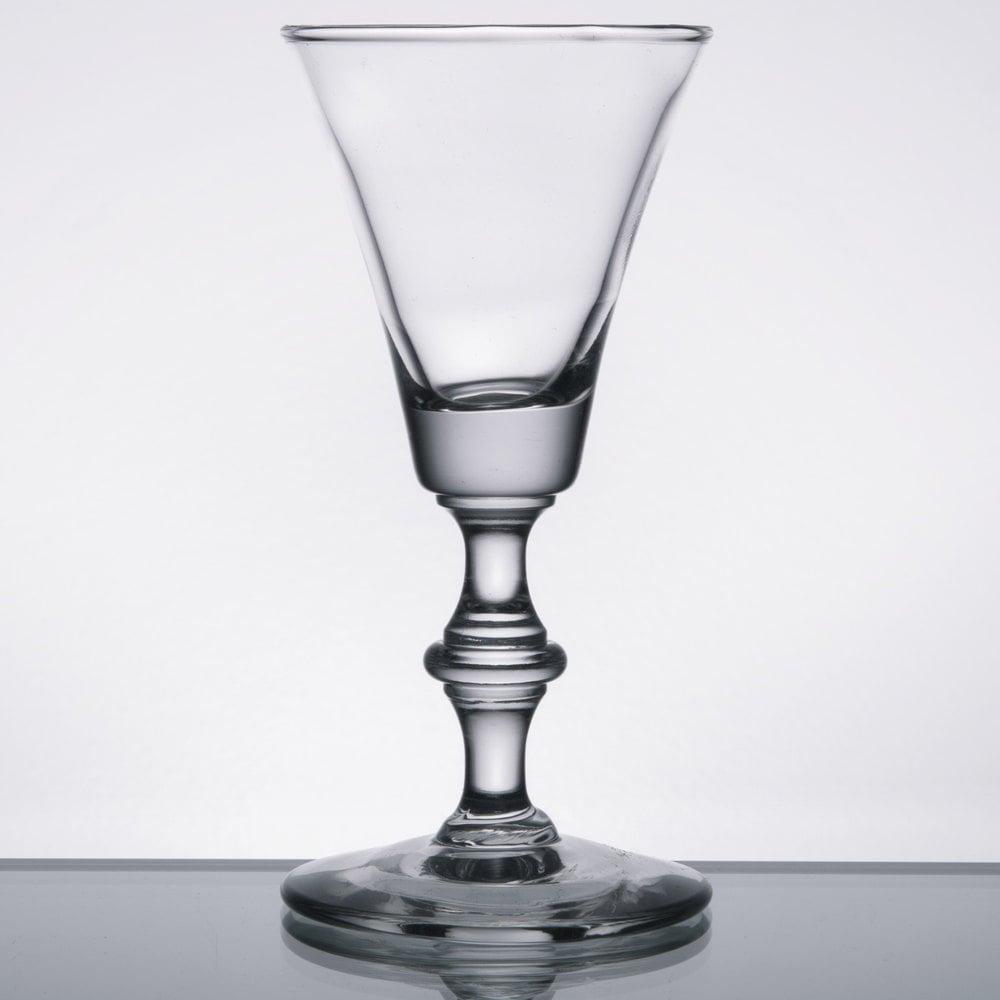 libbey 8089 2 oz  georgian sherry glass  case