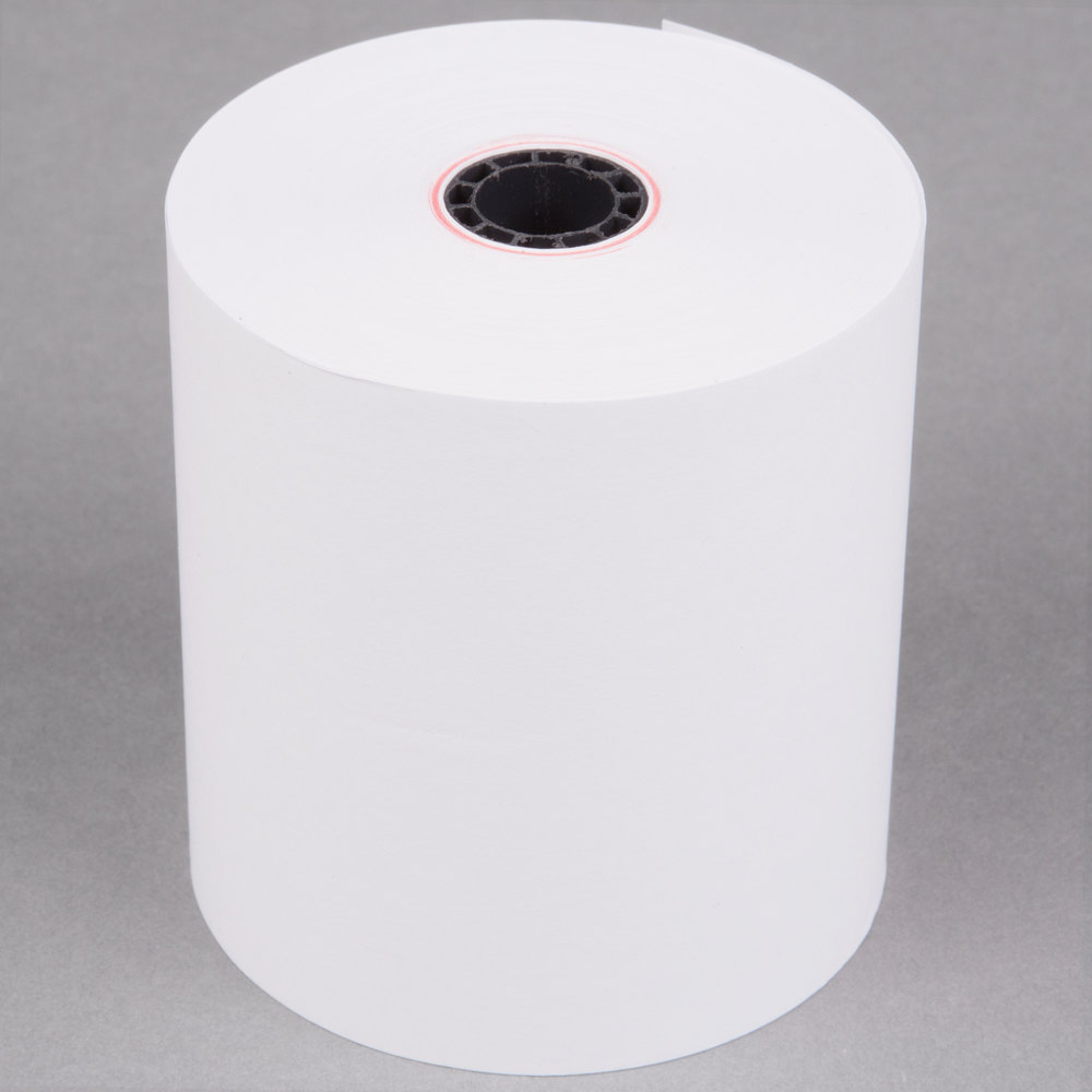 3 Quot X 165 Traditional Cash Register Pos Paper Roll Tape