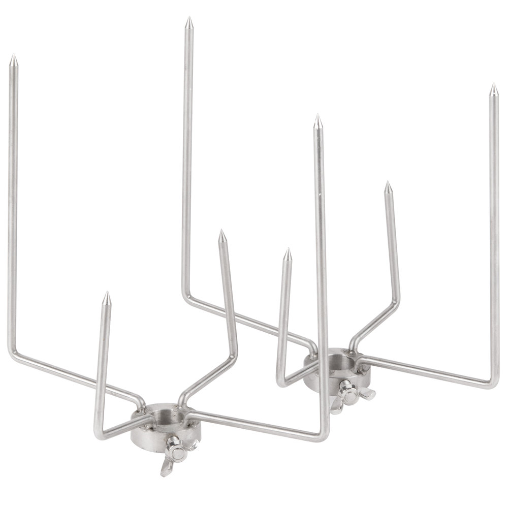 Crown Verity FA5 2 Fork Assembly Set for Rotisserie Assemblies