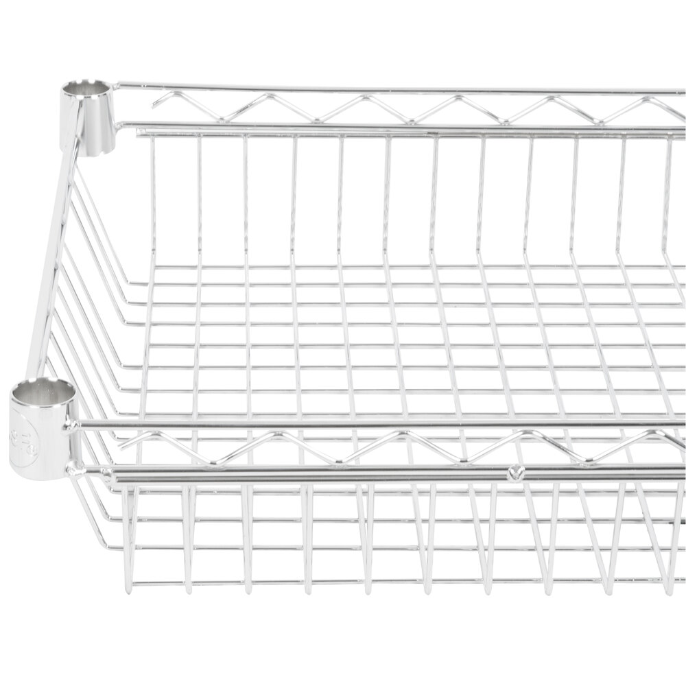 "Regency 18"" x 36"" NSF Chrome Shelf Basket"