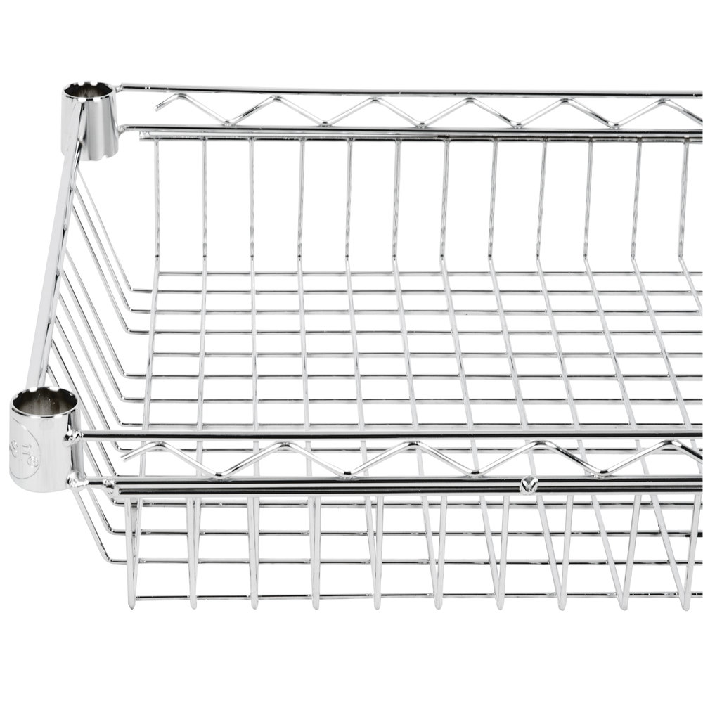 Regency 18 inch x 36 inch NSF Chrome Shelf Basket