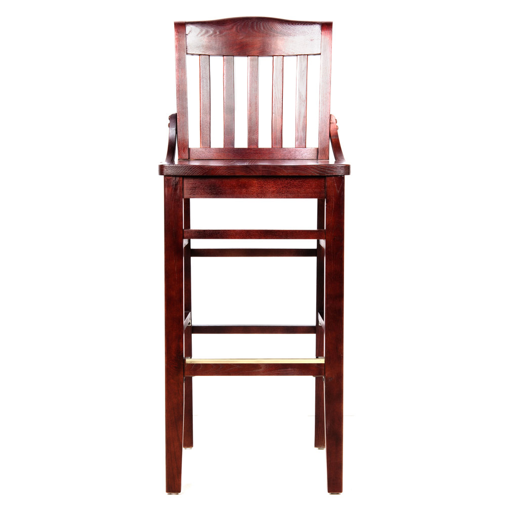 Lancaster Table Amp Seating Mahogany Wooden School House