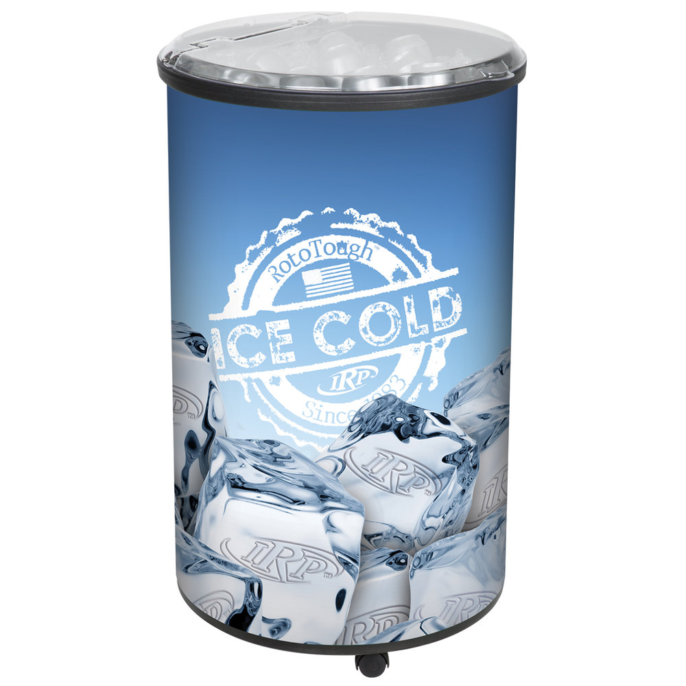 Irp Ice Hawk 5005 Insulated Portable Round Barrel Beverage