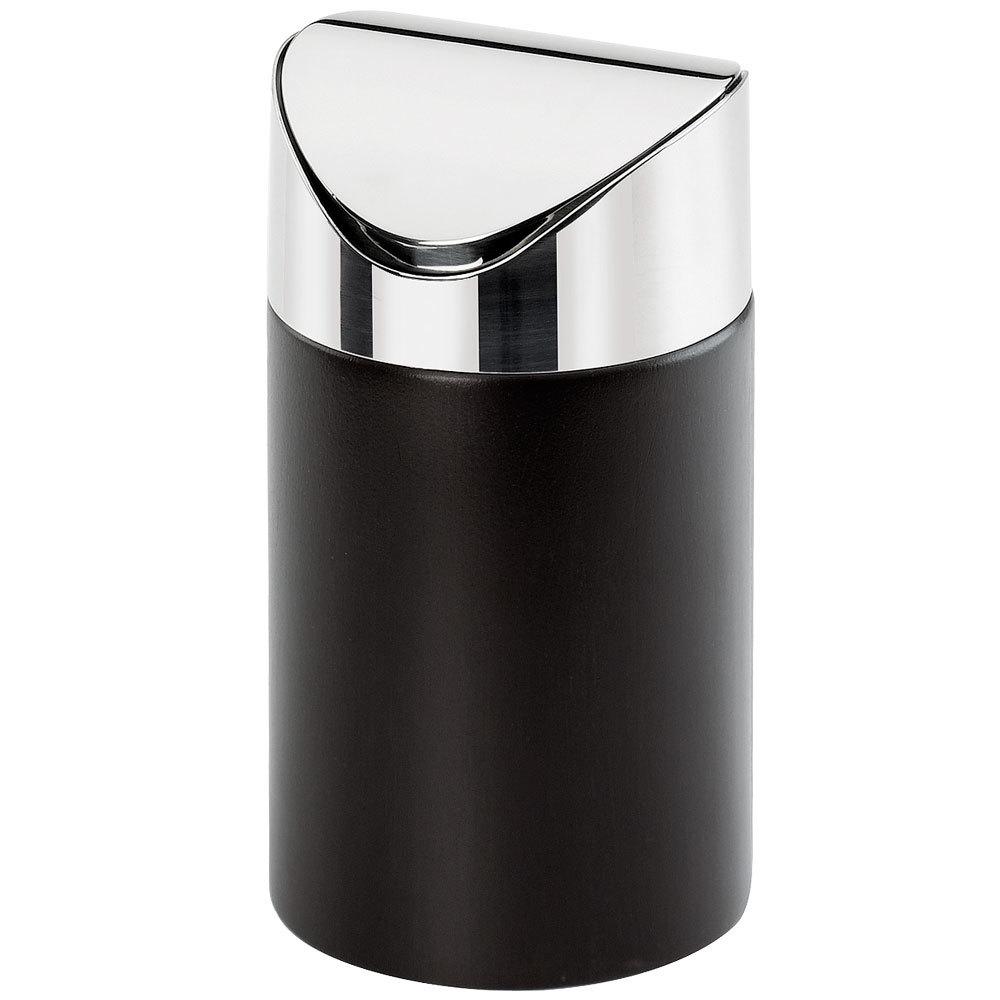 calmil midnight counter trash bin 5 inch x 7 inch