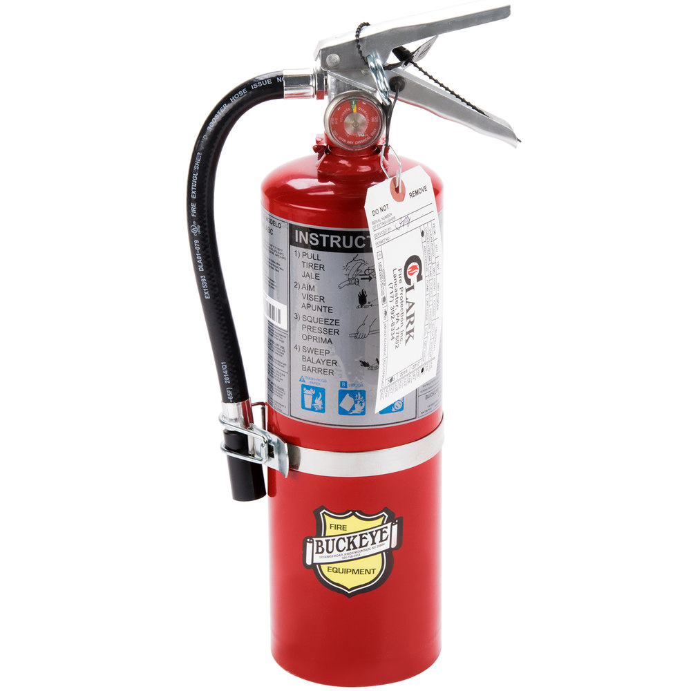 Buckeye 5 Lb Vehicle Fire Extinguisher Class Abc
