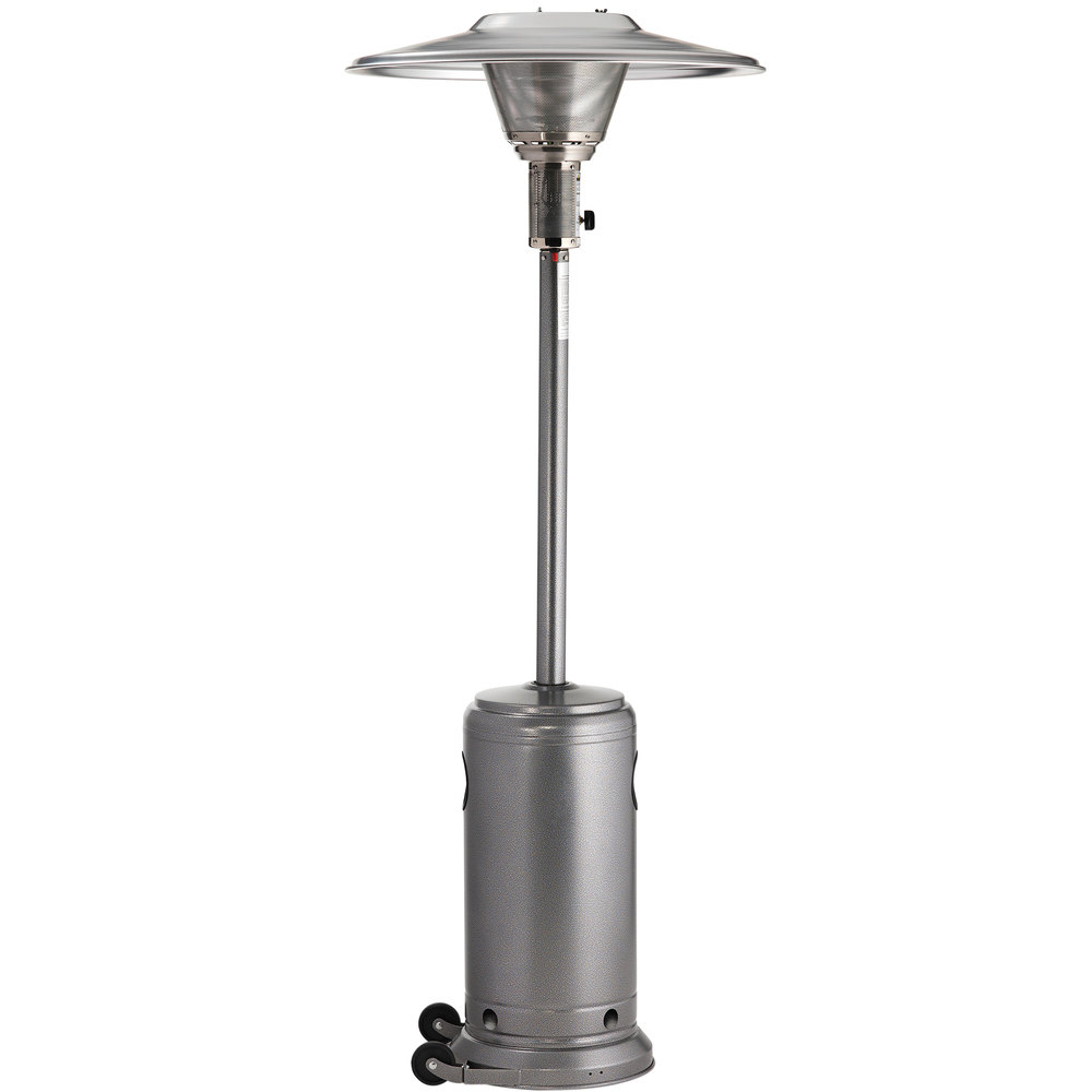crown verity cv2650 sv silver portable propane outdoor