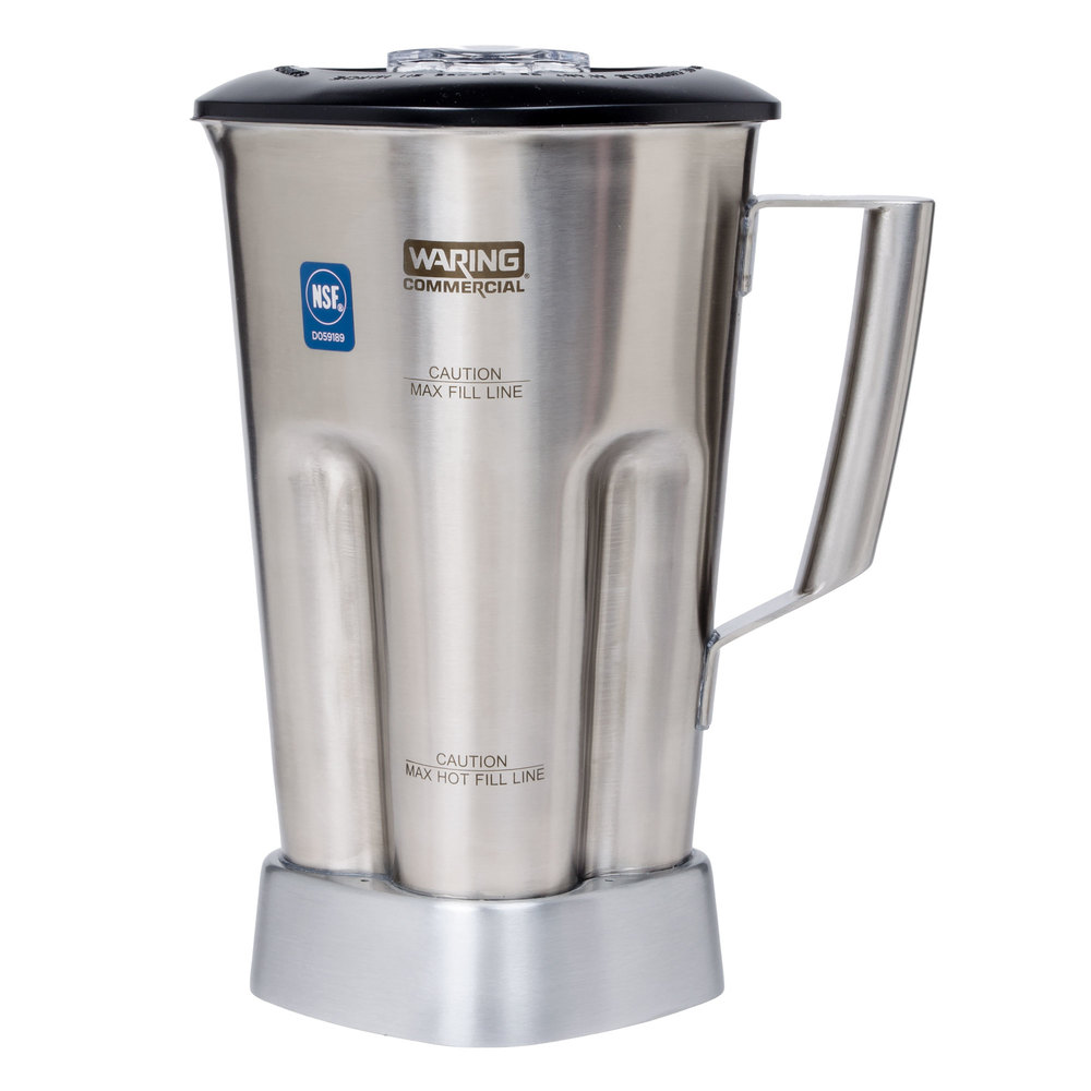 Waring Cac90 64 Oz Stainless Steel Container With Blade