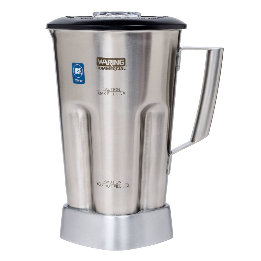 Stainless Steel Blender ~ Waring cac oz stainless steel container with blade