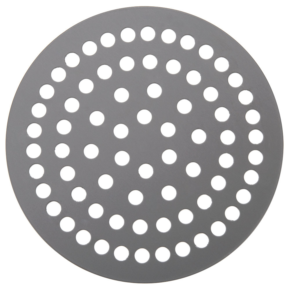 "American Metalcraft 18913SPHC 13"" Super Perforated Pizza Disk - Hard Coat Anodized Aluminum"