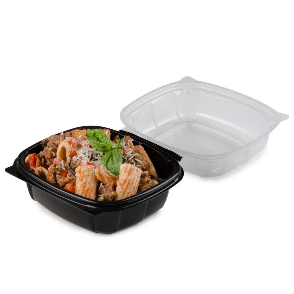 Matfer 061607 stainless steel table crumber - Microwaveable Plastic Hinged Take Out Container 171 Casetake Out Containers Plastic