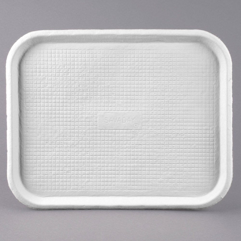 huhtamaki chinet 20804 savaday 14 u0026quot  x 18 u0026quot  white molded