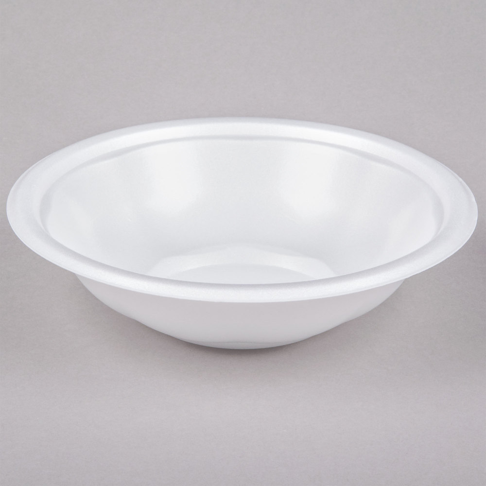 Genpak Fw032 32 Oz White Foam Utility Bowl 400 Case
